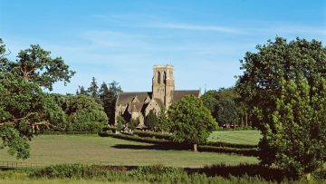 Hereford – Abbey Church of St Michael and All Angels (Belmont Abbey)